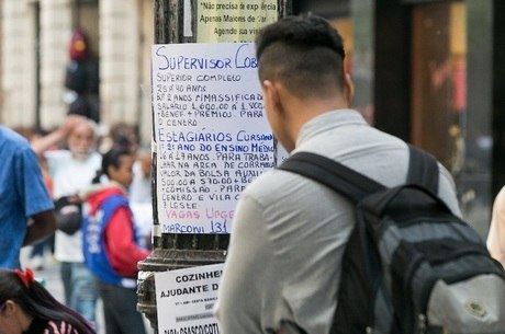 Mais de 12% da população brasileira está desocupada