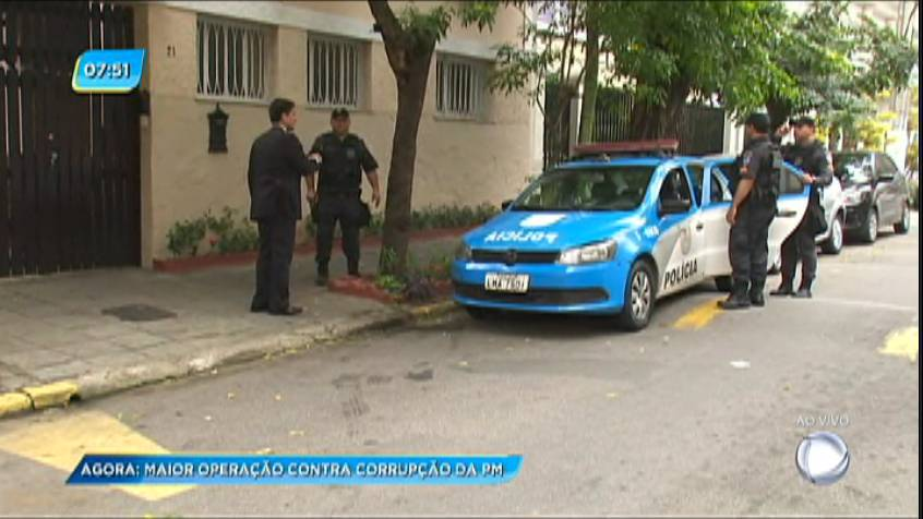 Policiais militares e civis realizam megaoperação nesta manhã de quinta em São Gonçalo