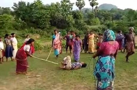 Estuprador foi agredido por mulheres com varas
