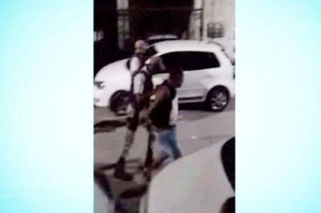 As agressões aconteceram durante uma abordagem no bairro de Massaranduba, em Salvador