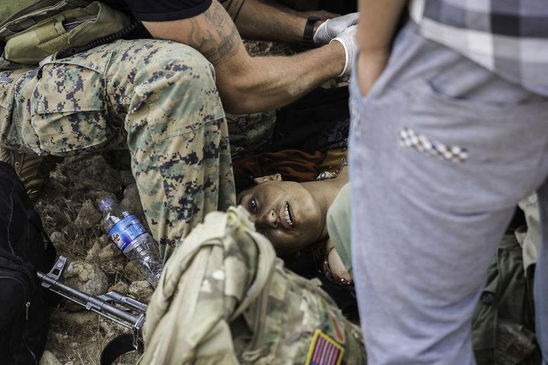 Os conflitos têm causados sérios danos humanitários, com pessoas necessitando a todo momento de atendimento de urgência