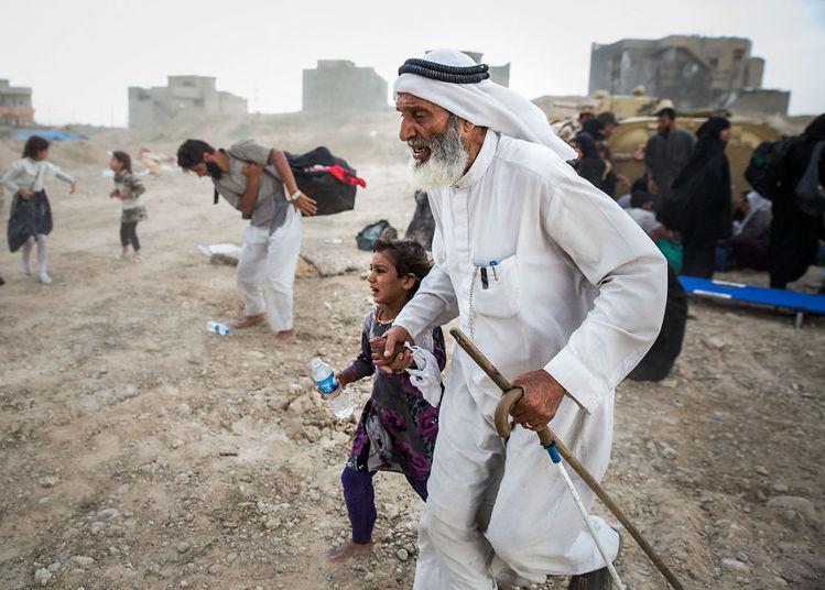 Veja imagens da angústia e do drama vividos na região do Iraque, publicadas no Kainoa Little, site especializado em coberturas de guerra