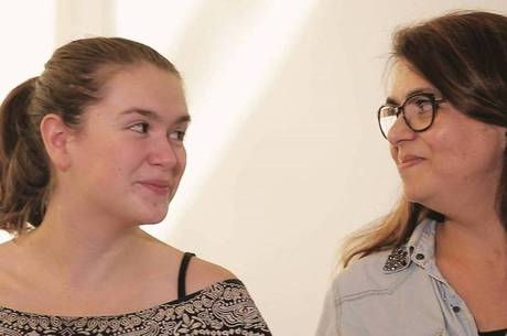 Até hoje, Marta é 'conselheira alimentar' da filha, Gabriela
