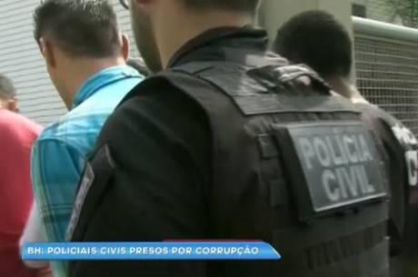 No total, operação já prendeu 18 policiais civis