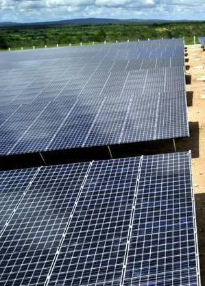 Fazenda de energia solar
