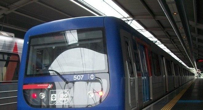 Linha Lilás Metrô SP - 800