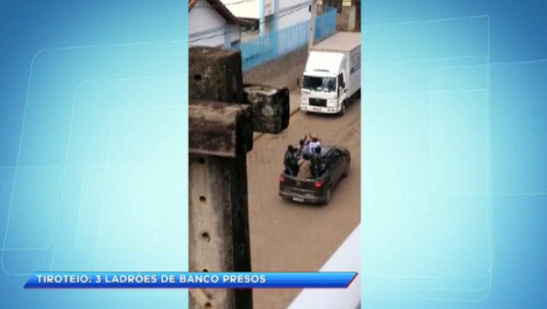 Presos três integrantes de quadrilha que levou terror a Santa Margarida