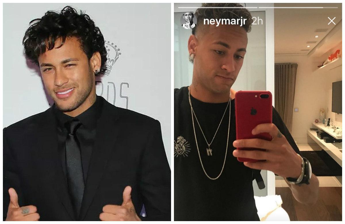 Neymar corta o cabelo e exibe novo visual na web