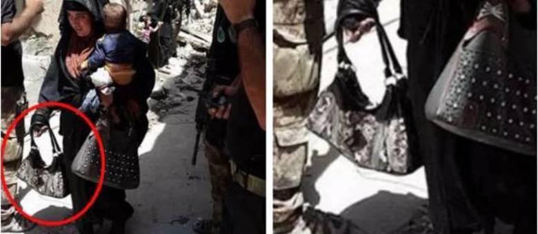 Vídeo mostra que mulher tentou detonar artefato enquanto passava por soldados iraquianos