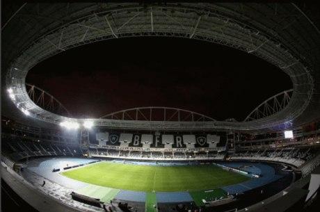 O estádio do Botafogo receberá a próxima partida do Vasco, punido