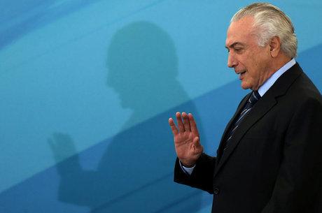 """Temer recebeu a decisão do colegiado """"com a tranquilidade de quem confia nas instituições brasileiras"""""""