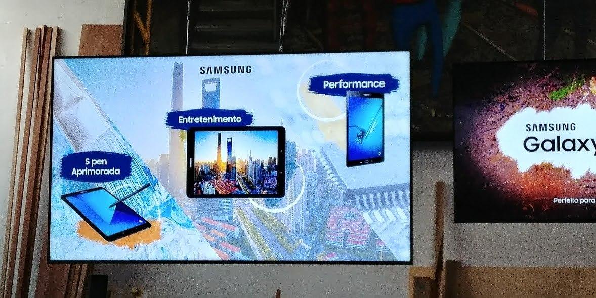 Samsung lança novo tablet no Brasil por R$ 2.999