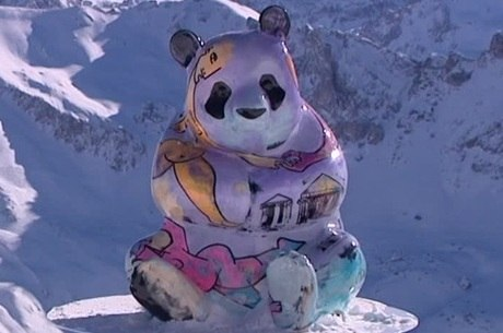Panda gigante de Julien Marinetti