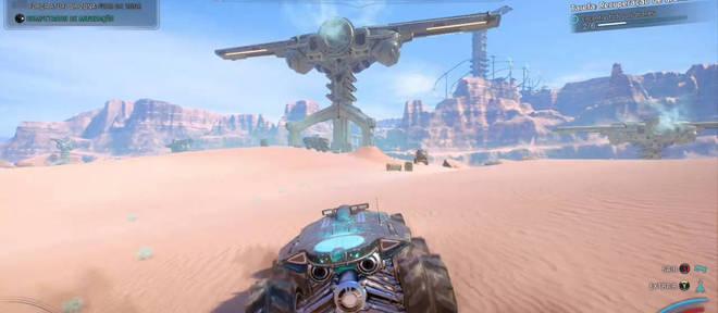 O game traz uma série de opções para a exploração