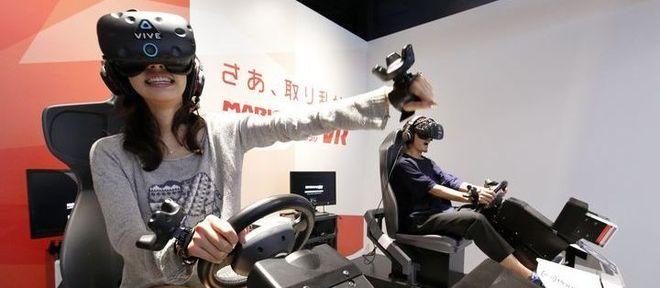Deve ser extremamente divertido jogar Mario Kart em realidade virtual