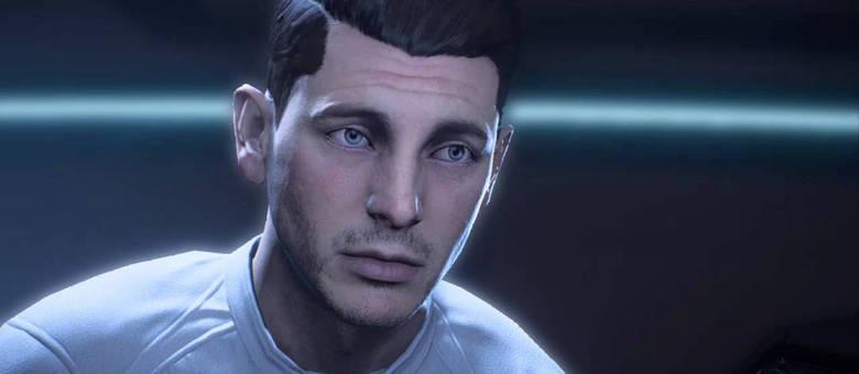 Você pode escolher jogar com Scott (na imagem) ou Alec Ryder no começo de Mass Effect Andromeda