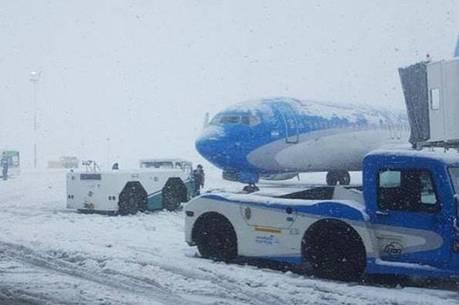Neve impediu que voos saíssem de Bariloche
