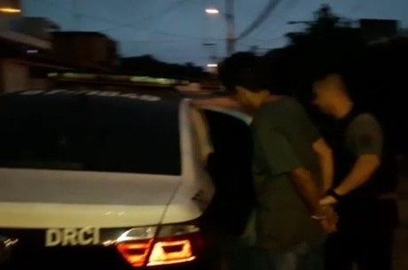 Homem foi preso na manha desta terça-feira (18)