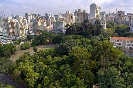 Da área do parque, apenas 10% terá o piso coberto