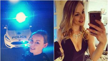 Polícia divulga foto de oficial em anúncio de emprego e só recebe comentários indecentes (Reprodução/The Sun )