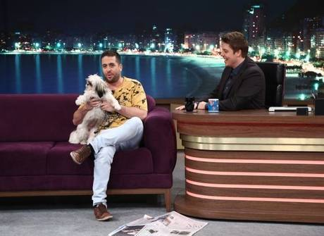 Maurício Meirelles apresenta o Uber, seu cachorro de estimação