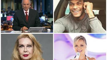 Problemas de saúde tiram vários artistas de cena (Reprodução/Rede Globo/ Instagram/Divulgação)