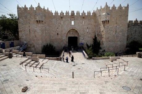 Entrada da Cidade Velha, pelo Portão de Damasco