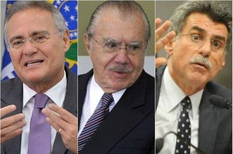Resultado de imagem para PF conclui que Renan, Jucá e Sarney não obstruíram as investigações da Lava Jato