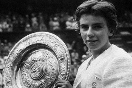 Maria Esther foi tricampeã de Wimbledon em simples