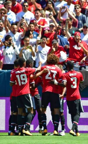Manchester United vence Real Madrid por 2 a 1