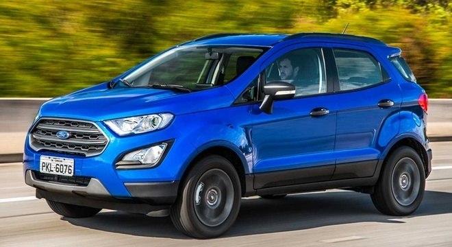 aceleramos o novo ford ecosport freestyle 1 5 autom tico not cias r7 carros. Black Bedroom Furniture Sets. Home Design Ideas