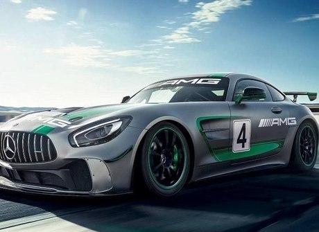 Mercedes mostra superesportivo AMG GT4 baseado no AMG GT R