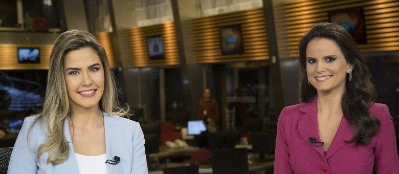 Larissa Alvarenga e Roberta Piza comandam o Fala Brasil