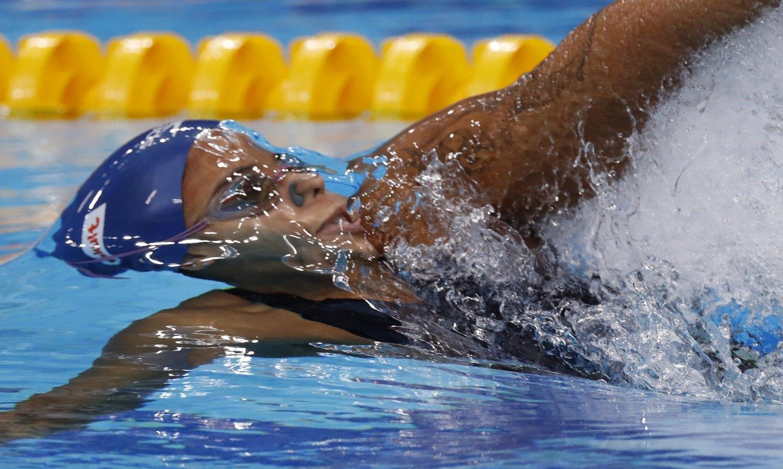 Etiene Medeiros é campeã mundial nos 50m costas em Budapeste