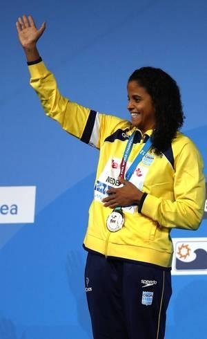 Etiene Medeiros: ouro nos 50m