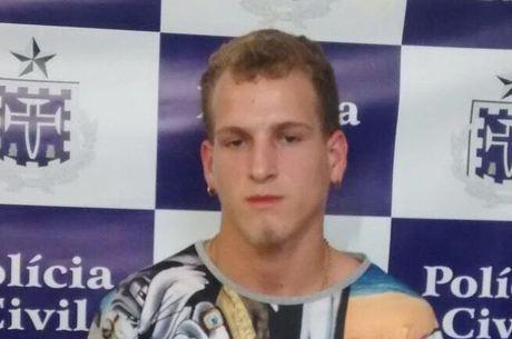 Lucas Gabriel dos Santos Holanda, 18, foi preso, por investigadores da 24ª Coorpin