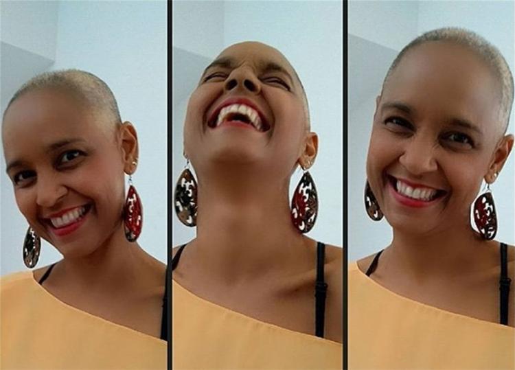 Ex-Cheiro de Amor, Carla Visi raspa cabelo em luta contra câncer
