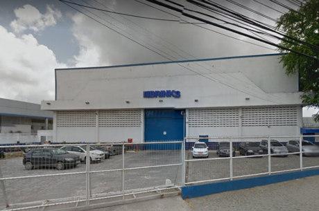 Fachada da empresa assaltada no dia 21 de julho