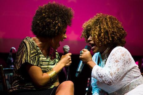 Luciana faz uma homenagem à Elza Soares no disco novo