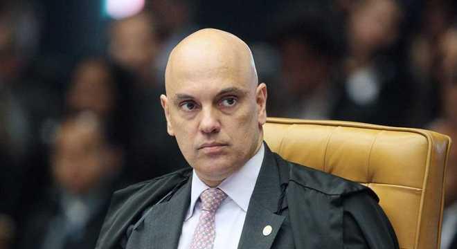 Na imagem, Alexandre de Moraes, ministro do Supremo Tribunal Federal