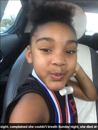Ki'ari Pope, oito anos, de Boynton beach, na Flórida, morreu seis meses depois de beber água fervendo, após ser desafiada pelo primo. A menina queimou a boca e a garganta. As informações são do jornal britânico Daily Mail