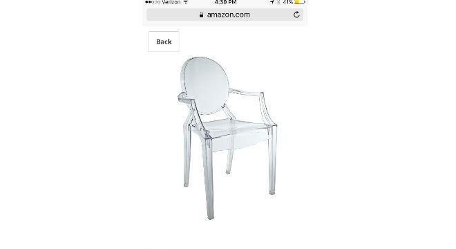 d674815b27 Menina compra cadeira em promoção na internet... mas tem surpresa muito  desagradável