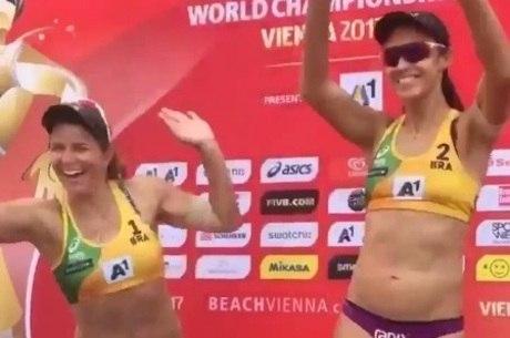Larissa e Talita levam bronze no mundial