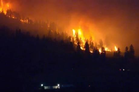 O aumento de temperaturas causou um recorde em incêndios