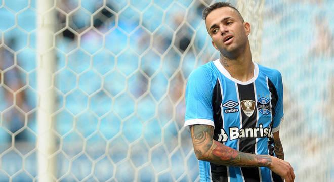 Principal jogador do Grêmio, Luan pode estar de saída para o futebol russo