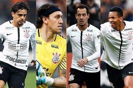 Quarteto do Corinthians mostra ansiedade para ser convocado por Tite ... e802ae9f04bad