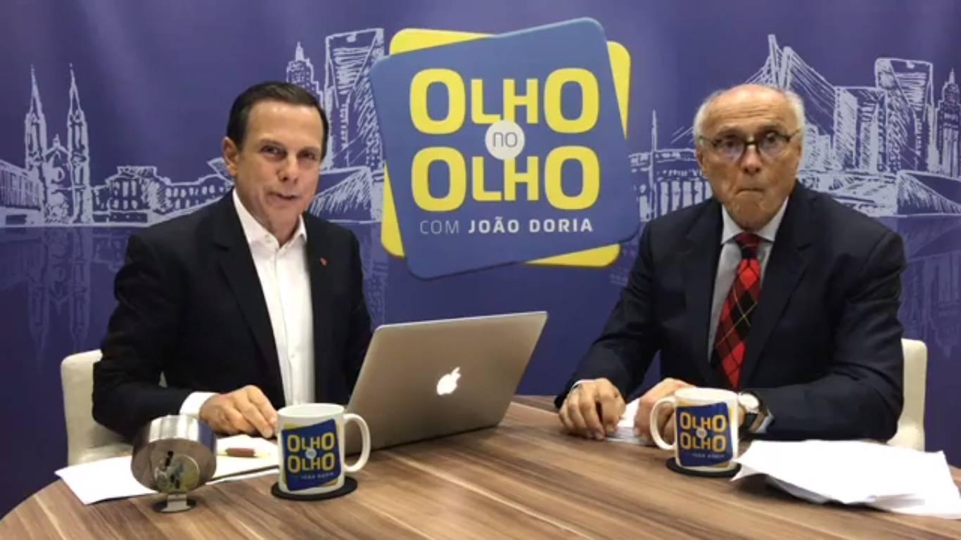 Doria admite que não usa 'as melhores referências' para Lula e Dilma