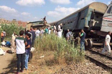 Testemunhas do acidente publicaram imagens no Twitter