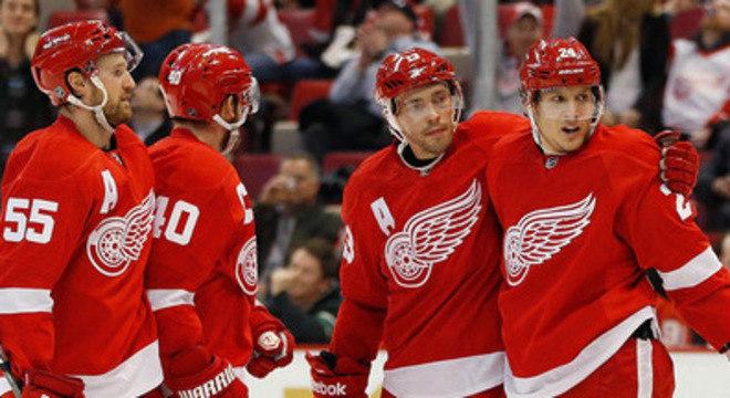 Equipe de Detroit é uma das mais populares da NHL