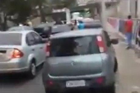 Tiroteio causou retensão no trânsito em Del Castilho